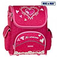 Школьный рюкзак раскладной Mike&Mar Майк Мар Сердце арт. 1440-ММ-05