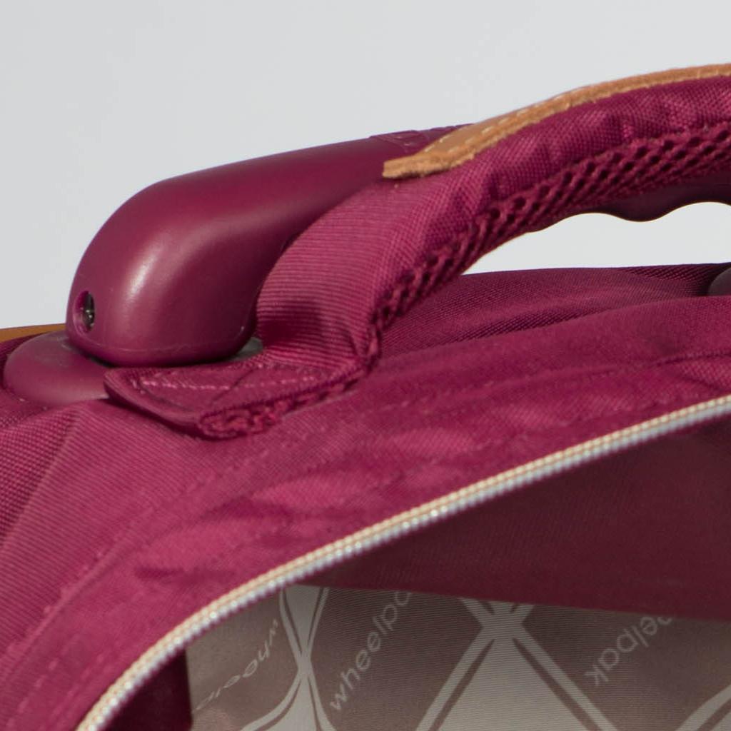 Школьный рюкзак на колесах - ранец Wheelpak Classic Wine - арт. WLP2200 (для 3-5 класса, 21 литр), - фото 6