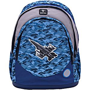 Школьные рюкзаки Belmil 405-33 Истребитель Sky Unit