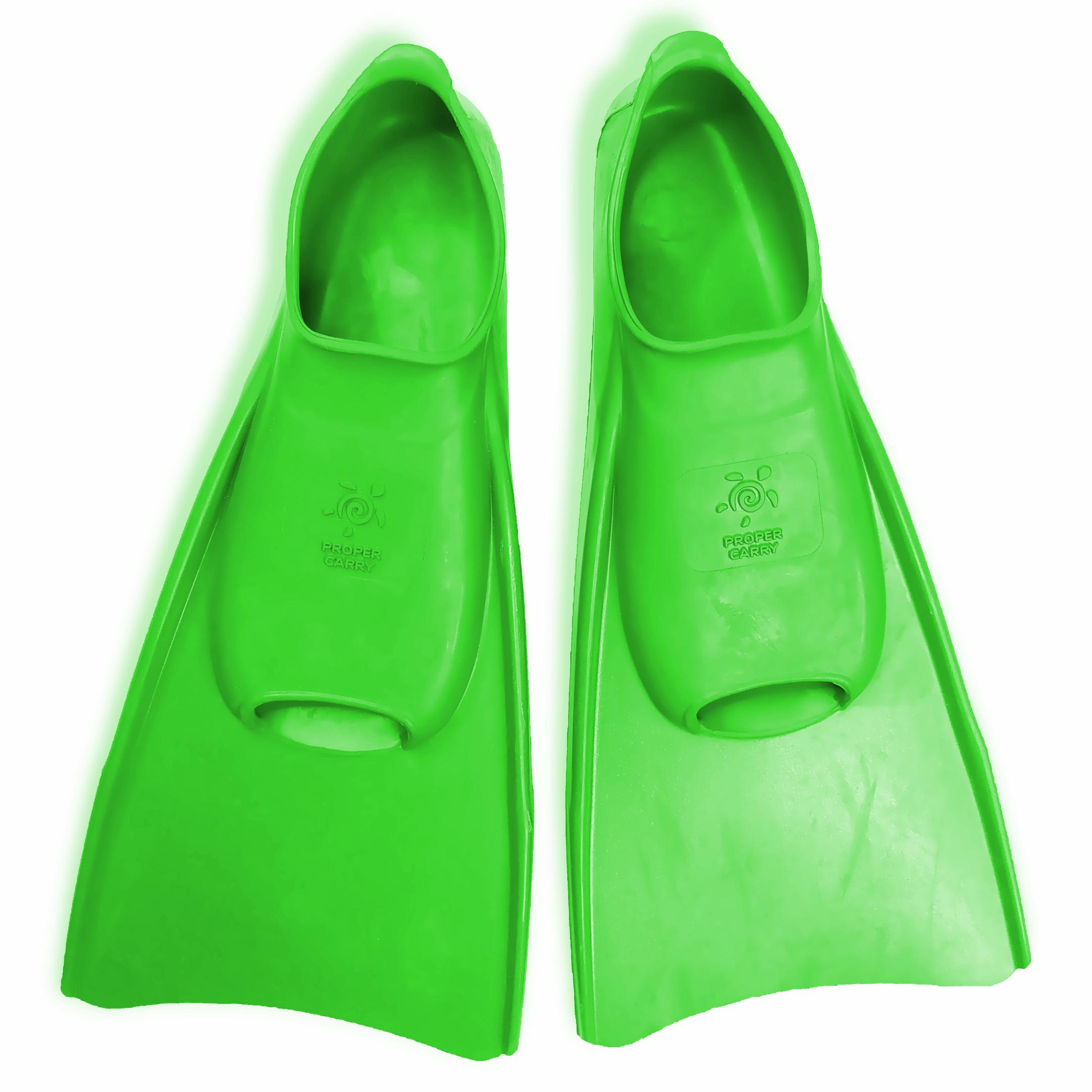 Детские ласты для плавания Proper-Carry тренировочные р. 29-30, 31-32, 33-34, 35-36, 37-38, 39-40, - фото 3