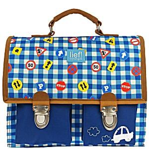 Портфель школьный для мальчиков LIEF! цвет On the Road