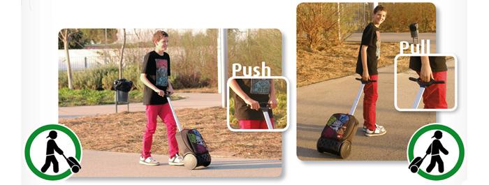 Рюкзак на колесиках Roller Nikidom White Fire XL арт. 9319 (27 литров), - фото 8