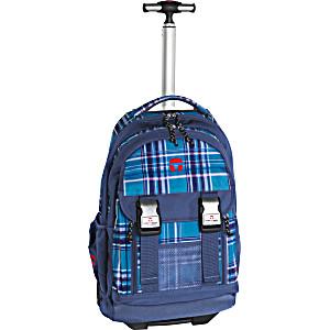 Школьный рюкзак на колесах Take It Easy Madrid Виола Блу