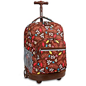 Универсальный школьный рюкзак на колесах JWORLD Sunrise арт. RBS18 Осень
