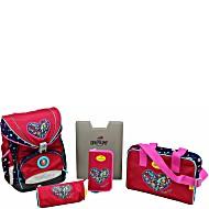 Школьный ранец DerDieDas ErgoFlex с наполнением Цветочная любовь