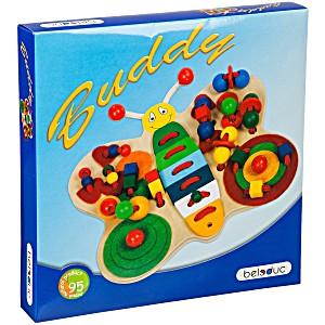 Развивающая игра-шнуровка деревянная Beleduc Бабочка Бадди