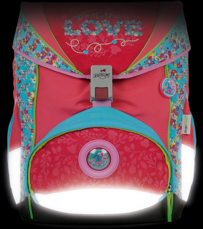 Ранец Derdiedas Ergoflex XLс наполнением Настоящая Любовь + нагрудный ремень, - фото 12