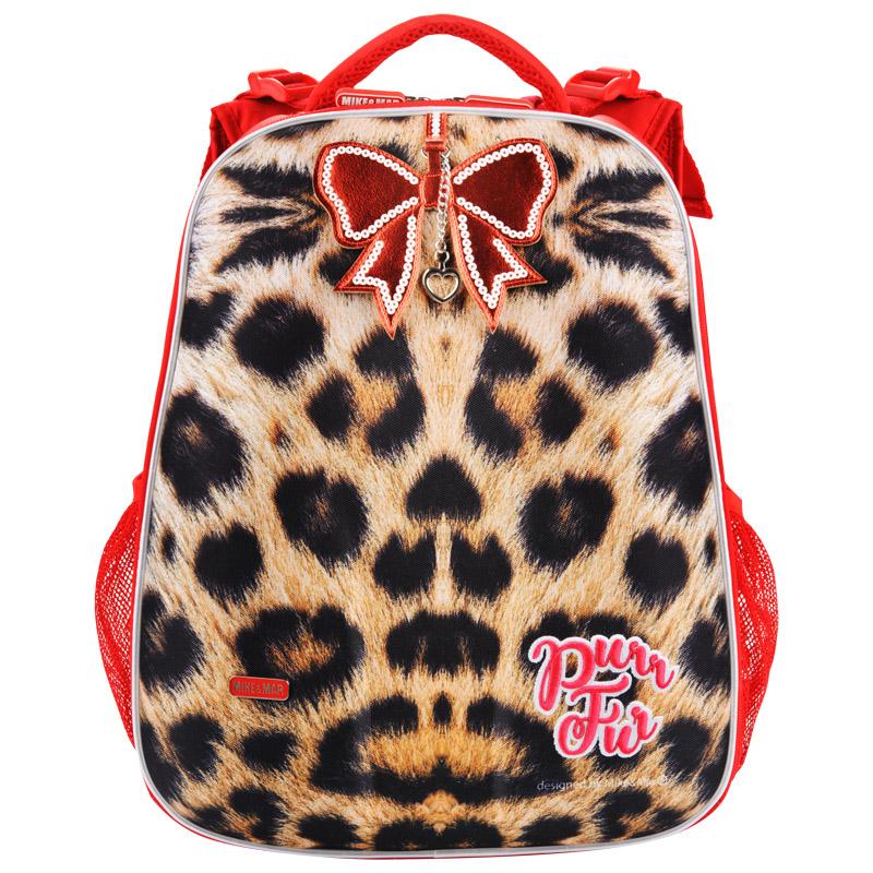 Школьный ранец Mike mar 1008 - 135 Леопард, - фото 2
