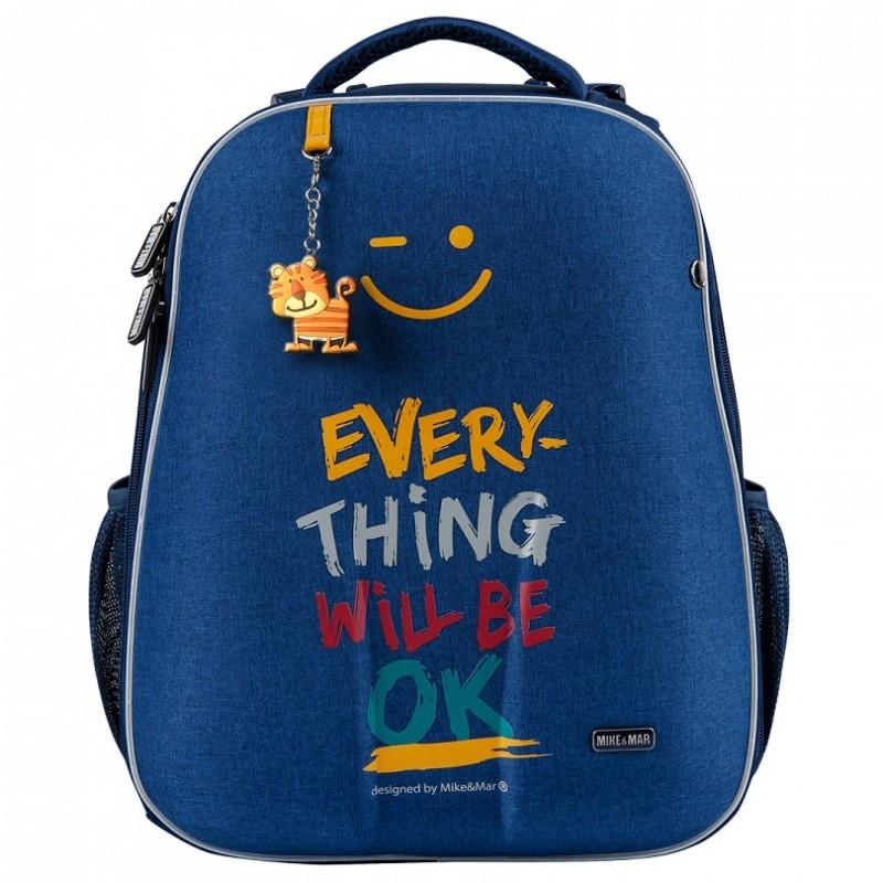 Рюкзак Mike Mar Ok джинсовый 1008 162 + мешок, - фото 1